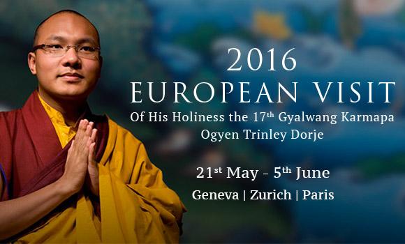 The Gyalwang Karmapa's Tour of Paris, Geneva and Zurich