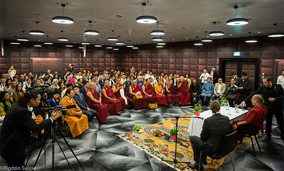 2016.05.27 meeting with tibetan leaders Zurich