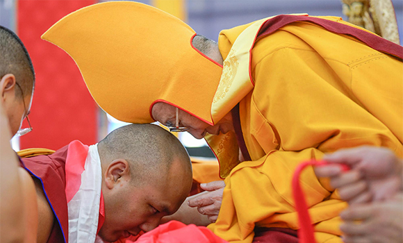 The Gyalwang Karmapa Attends 34th Kalachakra