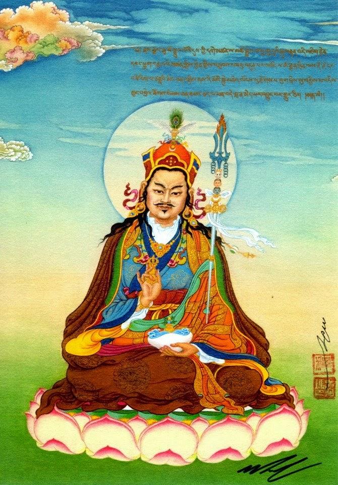16th Karmapa statue