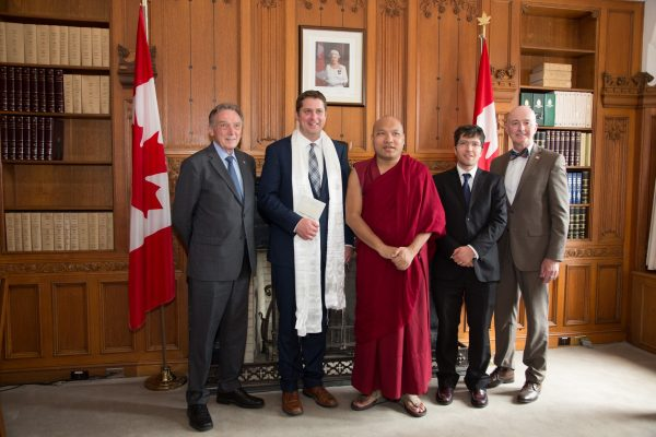 Canadian lawmakers welcome 17th Karmapa on maiden visit to Canada