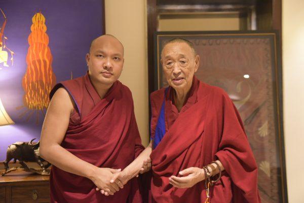 The Karmapa Eulogizes Gyalwa Menri Trizin
