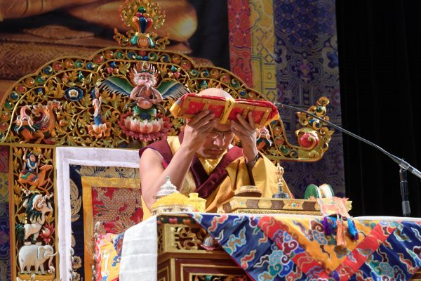 The Gyalwang Karmapa Gives a Longevity Empowerment in New York