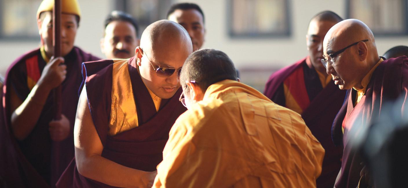 Karmapa and Tai Situ
