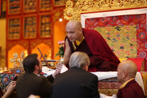 The Gyalwang Karmapa Opens the Door to Losar, the Tibetan New Year