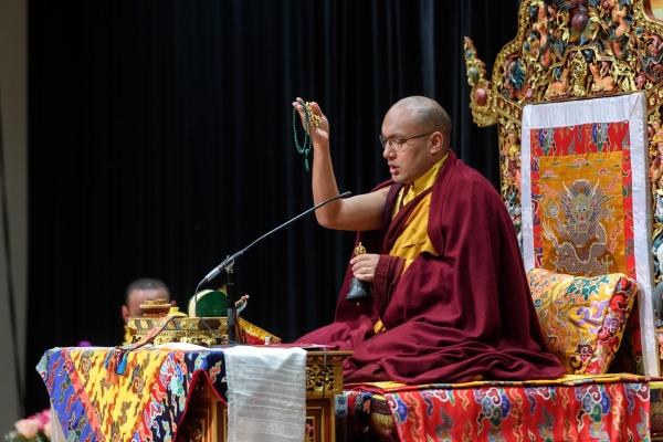 The Gyalwang Karmapa Bestows a Green Tara Empowerment