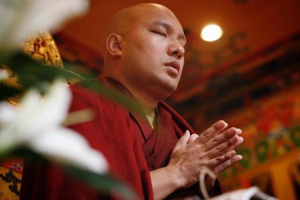 The Gyalwang Karmapa Attends a Forty-Ninth Day Ceremony