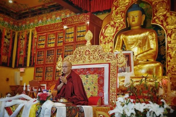 The Karmapa Attends a Karma Pakshi Feast Offering