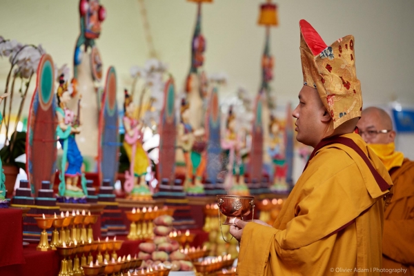 The Karmapa Attends the Kagyu Monlam in North America for the First Time