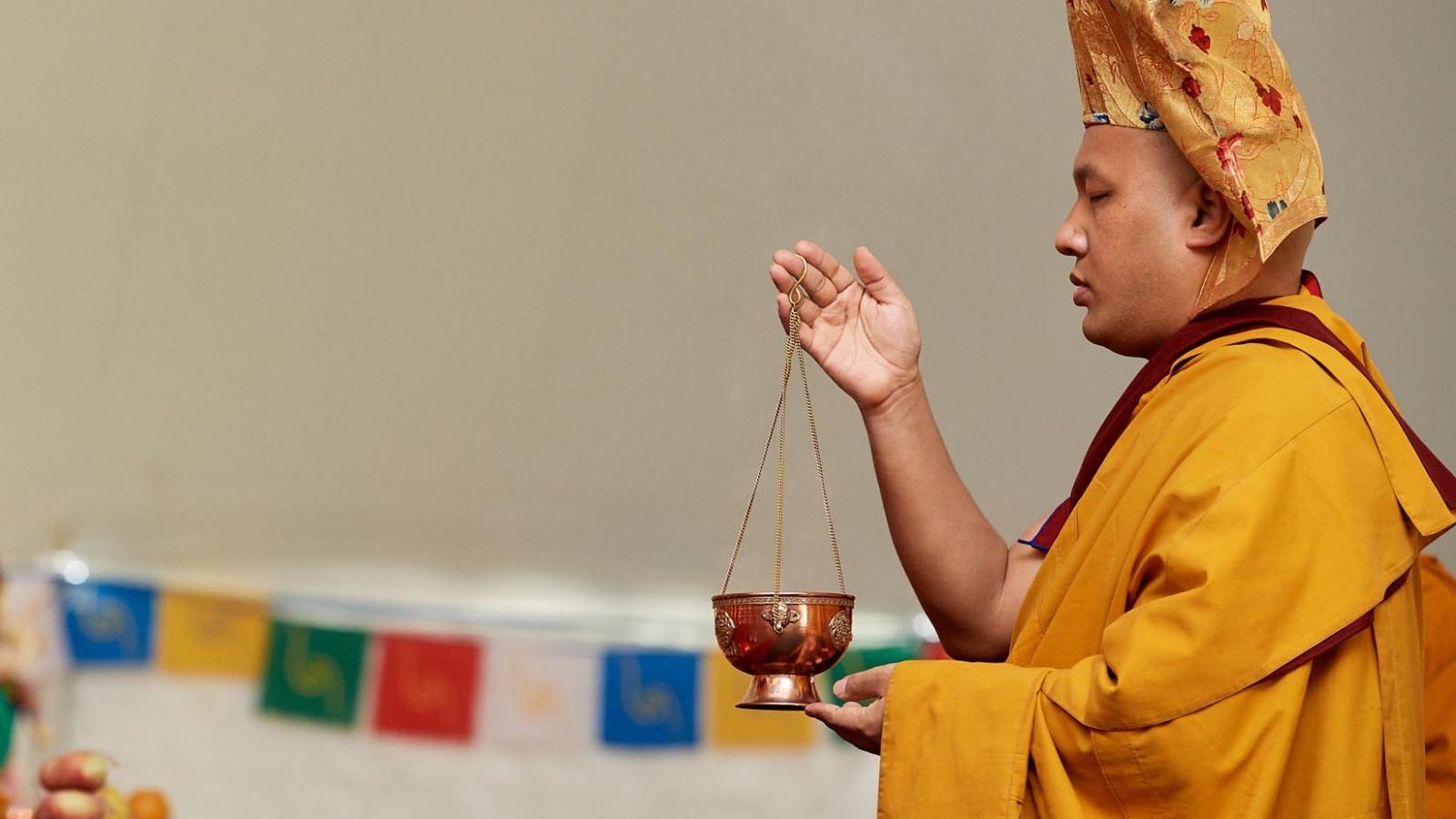 Karmapa at Kagyu Monlam USA