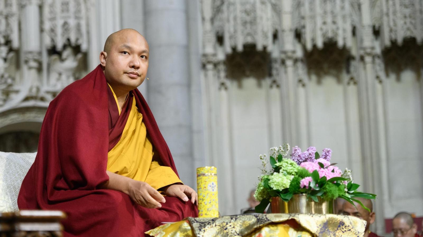 Karmapa teaching in USA