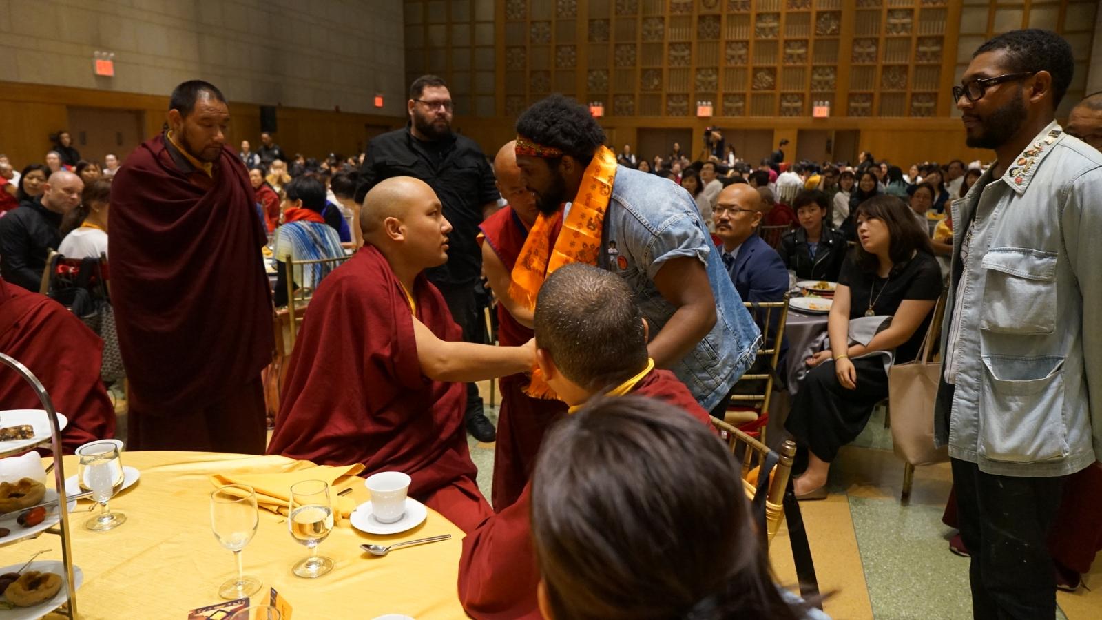 Karmapa thank you dinner