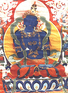 Vajradhara - Le Bouddha Vajradhara , Dordjé Tchang Vajradhara