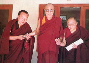 Dalai Lama Tai Situ Gyaltsab