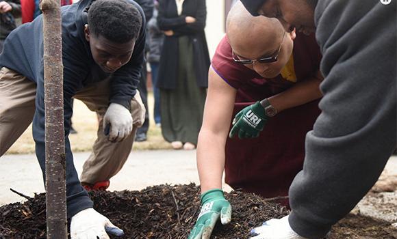 2015.04.08 yale planting tree