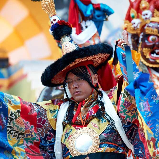 Karmapa Mahakala Dance