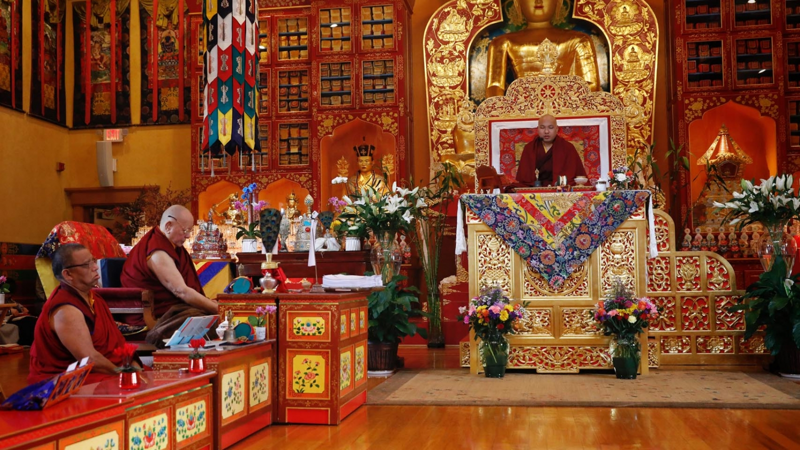 Karmapa at KTD
