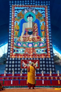 Shakyamuni Buddha Thangka Photo