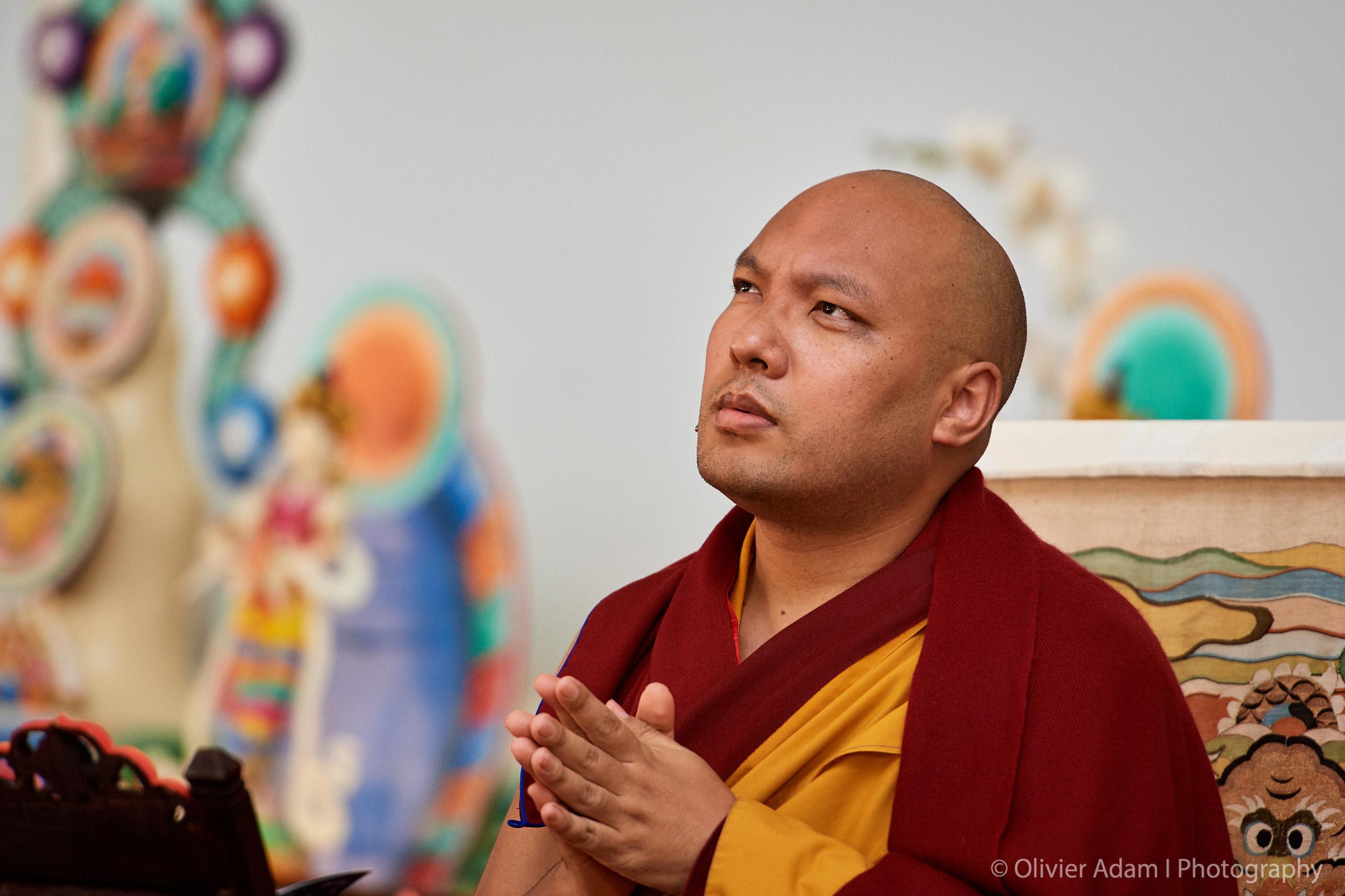 karmapa teaching three principle aspects of the path
