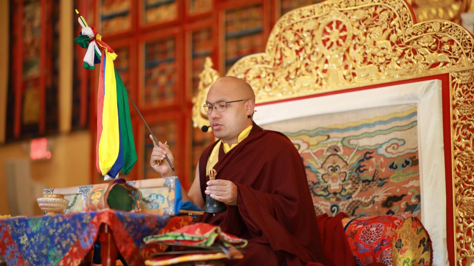 Karmapa Long Life Puja