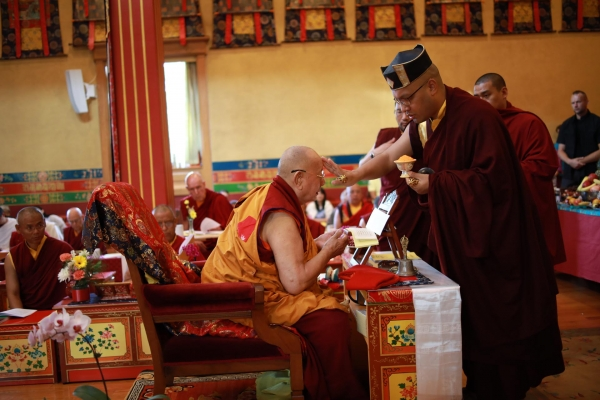 A Special Long Life Blessing for Khenpo Karthar Rinpoche