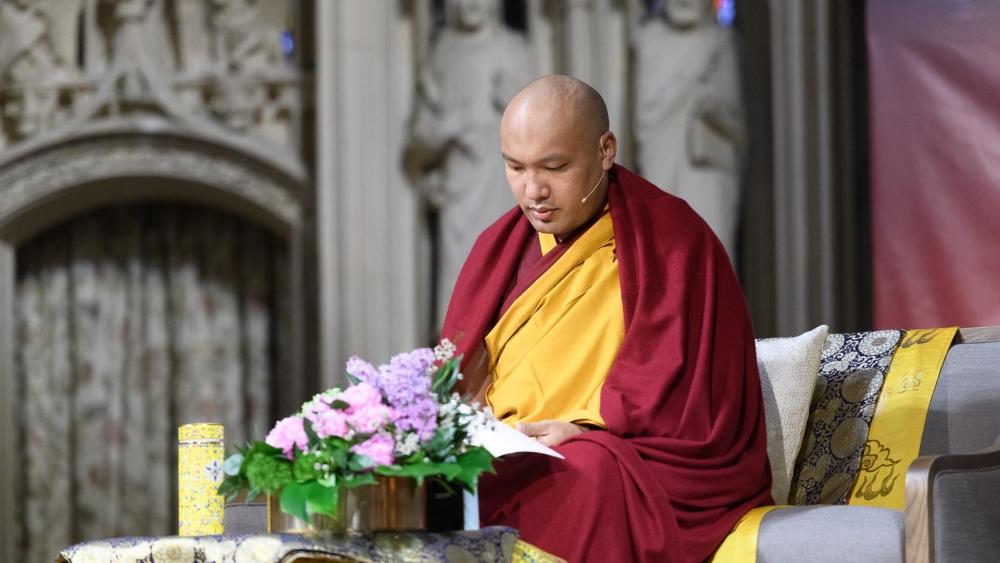 Karmapa afternoon teaching