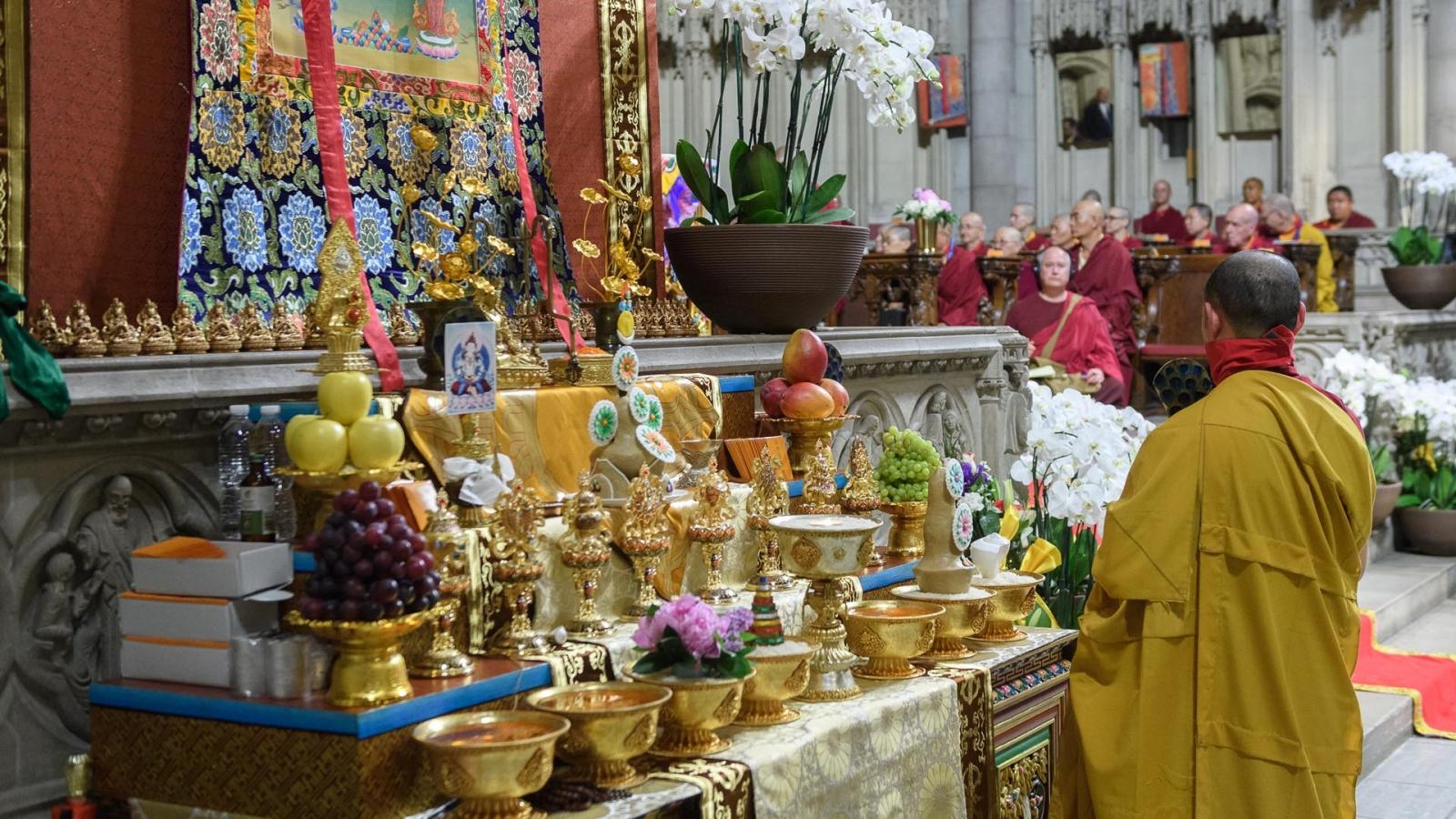 Vajrasattva altar