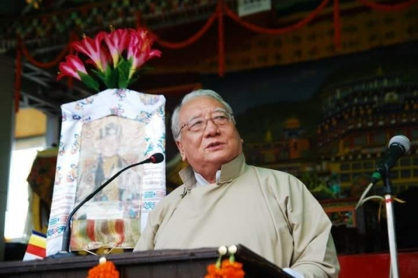 The Gyalwang Karmapa Offers Condolences on the Passing of Mr Karma Topden