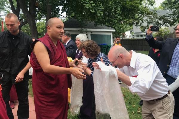 The Karmapa Pays a Visit to the Kurukulla Center