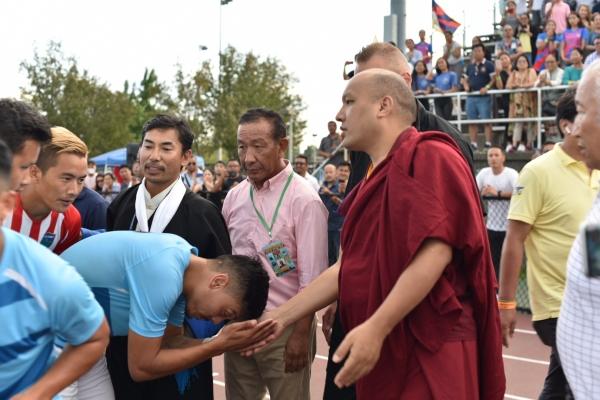 The Karmapa Visits the Tibetan Soccer Championships in North America
