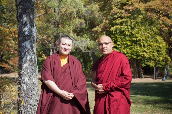 Joint Statement of His Holiness Ogyen Trinley Dorje and His Holiness Trinley Thaye Dorje