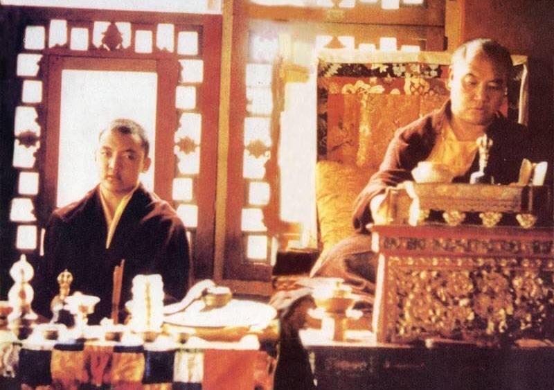 Shamar Rinpoche and the 16th Karmapa