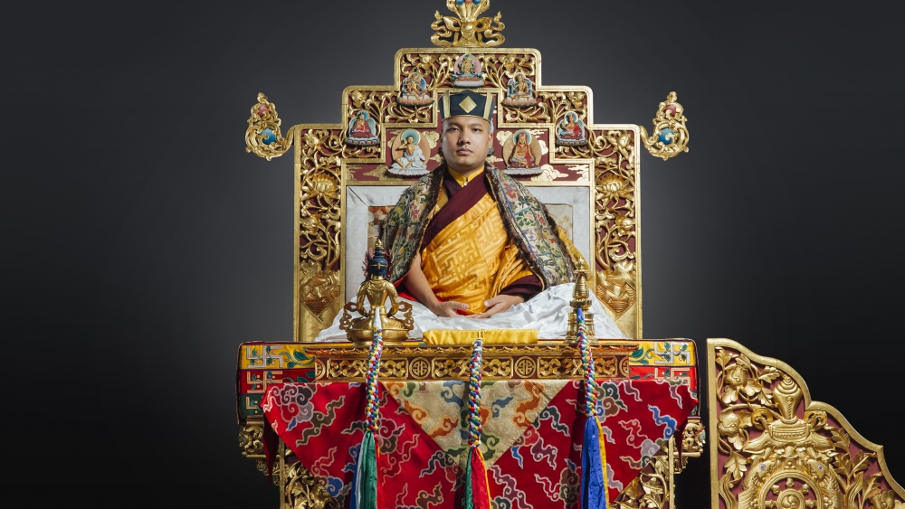 Karmapa Throne Portrait